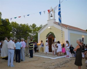 Photo galleries of churches and chapels, Spetses Island Greece