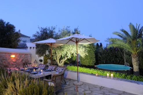 Villa Bianca Spetses Island Greece