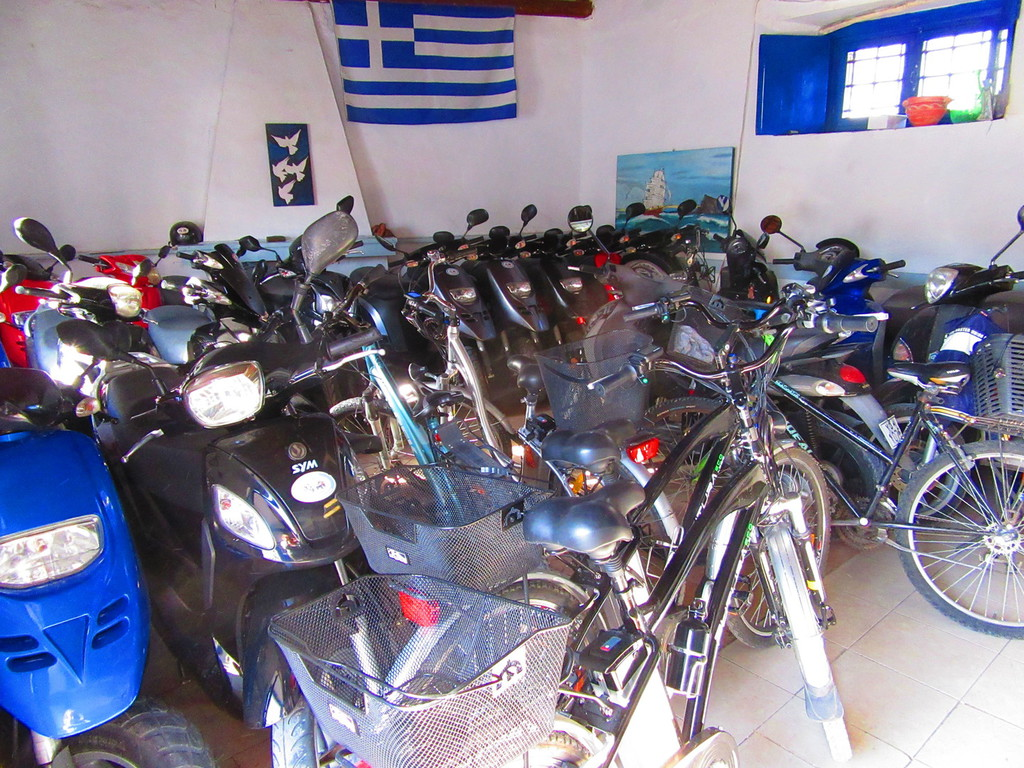 Spetses Island Greece by SpetsesDirect - Motorbike Hire