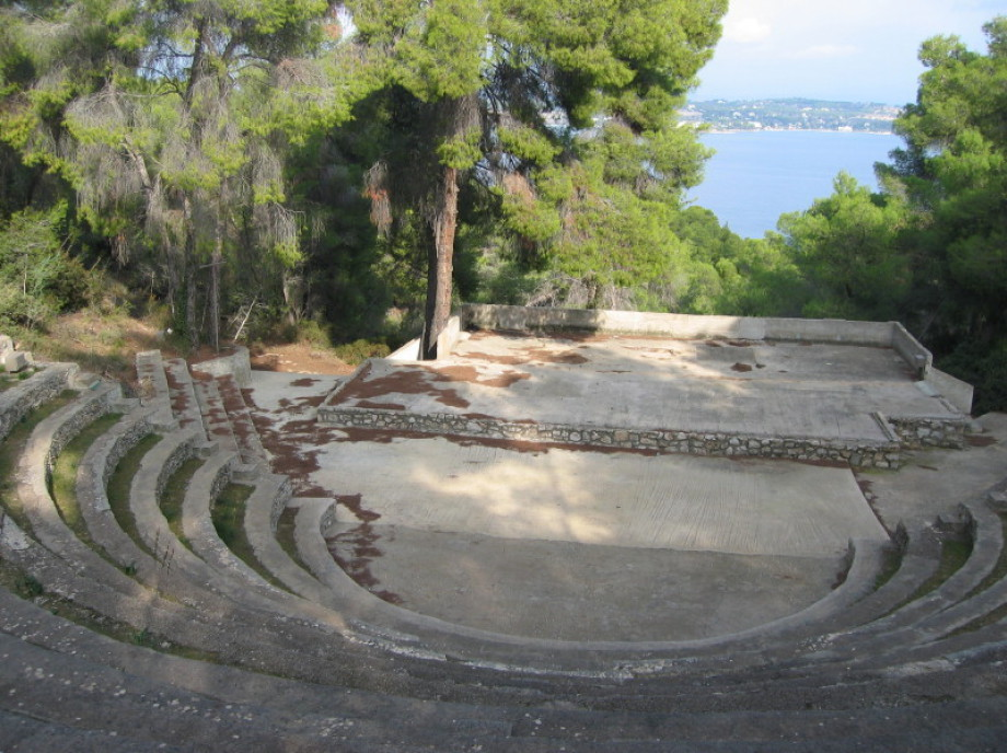 Anargyros CollegeOpen Air  Amphitheatre Spetses Island Greece
