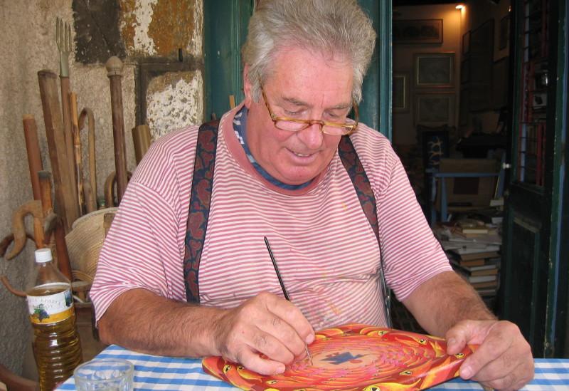 Artists on Spetses Island
