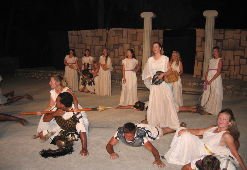 Theatre on Spetses Island