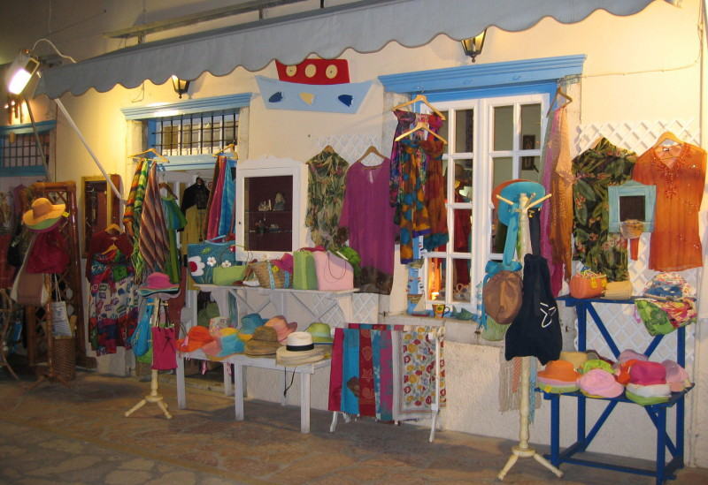 Clothes, Shoes & Toys on Spetses Island
