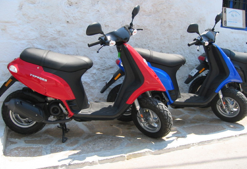Motorbike Hire on Spetses Island