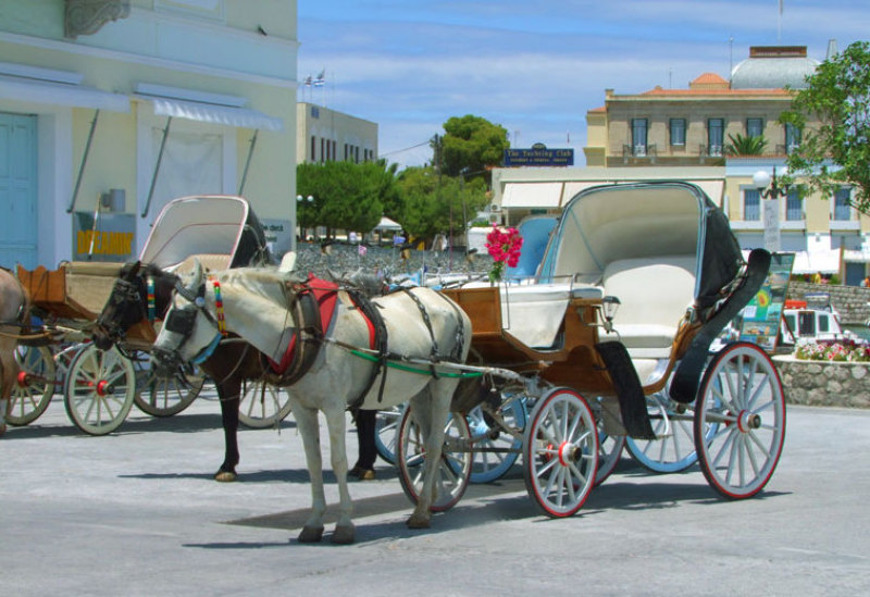 Local Transport on Spetses Island