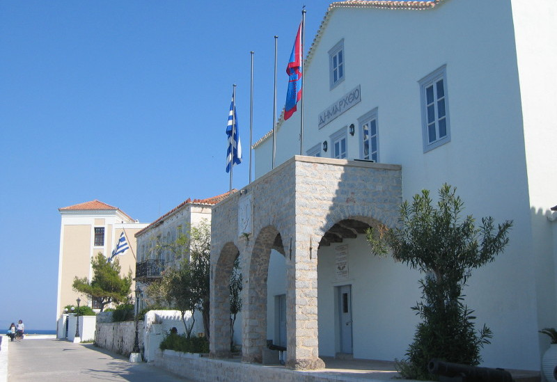Local Authorities on Spetses Island