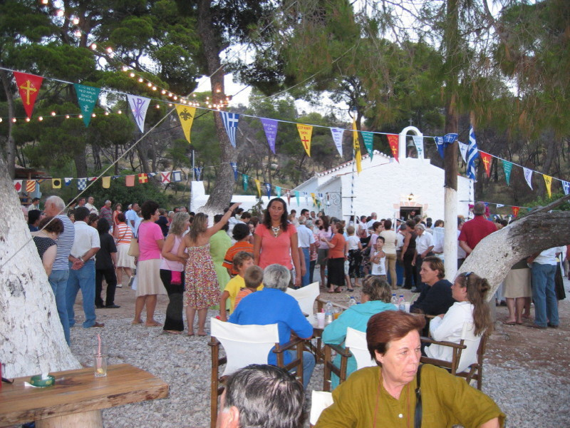Carnival on Spetses Island should have been on 14 March 2021 but cancelled due to Coronavirus